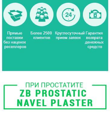 ZB Prostatic Navel Plaster купить в Туле